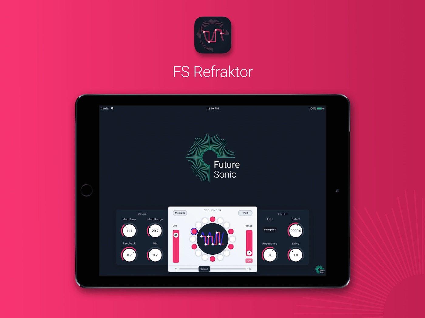 FS Refraktor Flanger App