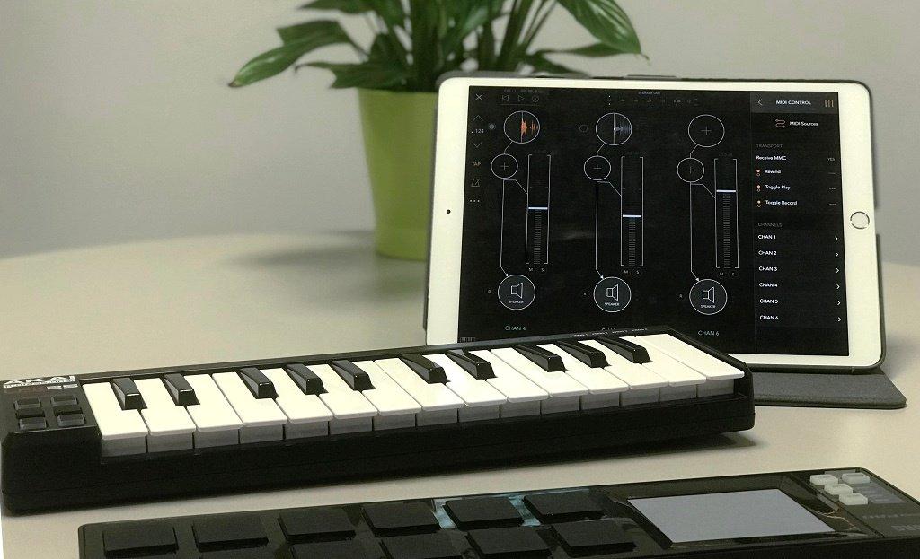 MIDI Controls in AUM
