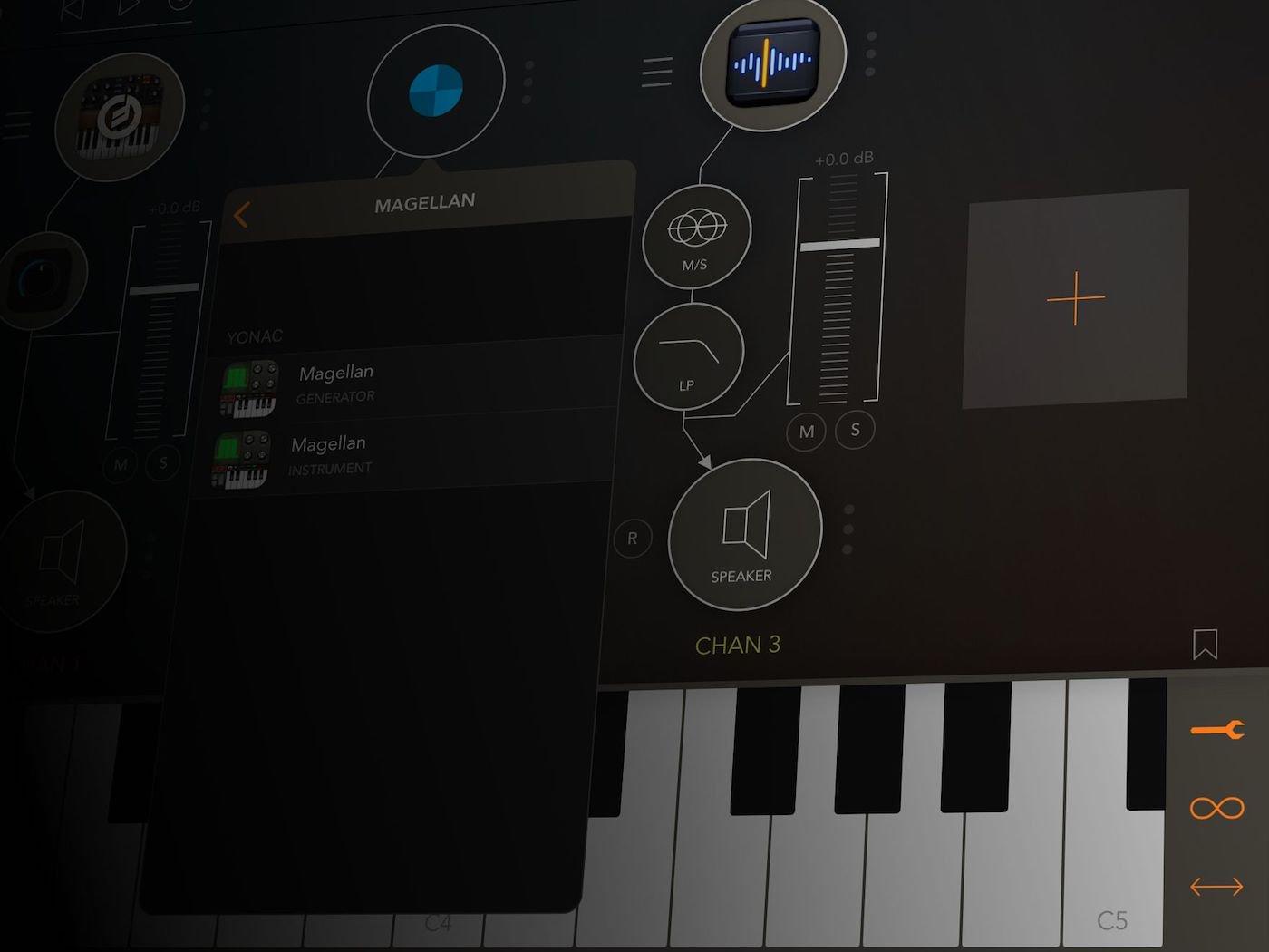 Inter-App Audio Generators and Instruments