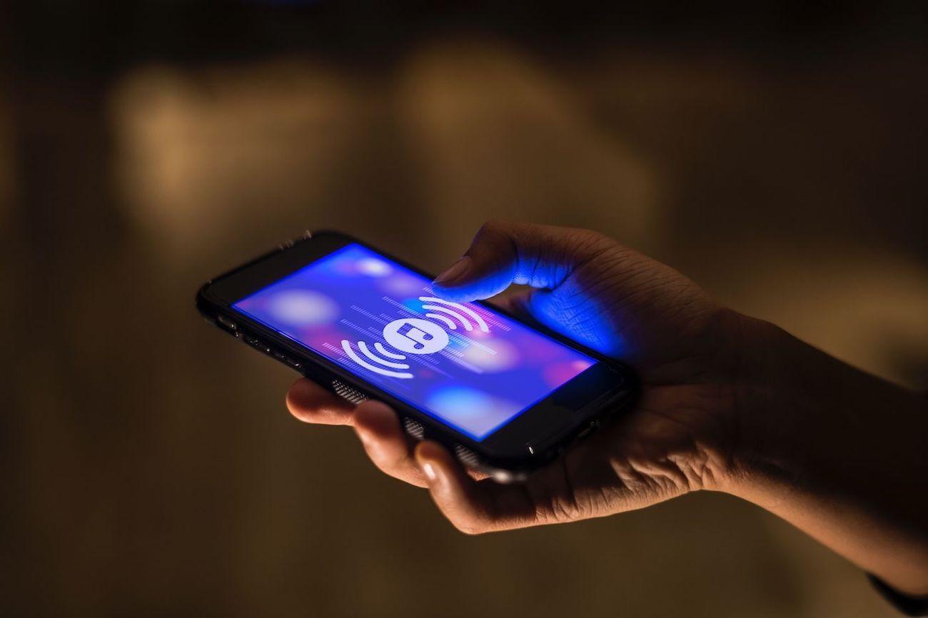 Music App on Phone